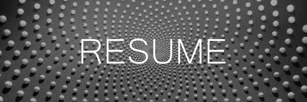 Resume-Banner 1
